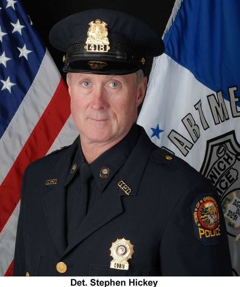 Detective Stephen Hickey has retired from Greenwich Police Department after 31 years. Photo: /