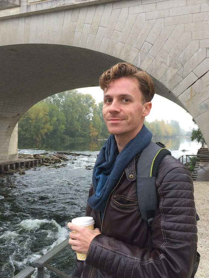 Jason McCarty, a 36-year-old sound artist from Iowa, was among those who died in the warehouse fire in the Fruitvale neighborhood of Oakland on Dec. 2, 2016. He is pictured standing by the Loire River in Tours, France in October, while visiting his girlfriend, Grace Lovio. Photo courtesy Grace Lovio Photo: Photo Courtesy Grace Lovio