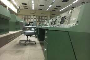 The interior of MOCR2, Mission Operations Control Room 2 or Mission Control at Johnson Space Center. MOCR2 was the nerve center for much of the Gemini program and all of the Apollo program where man first reached the moon.