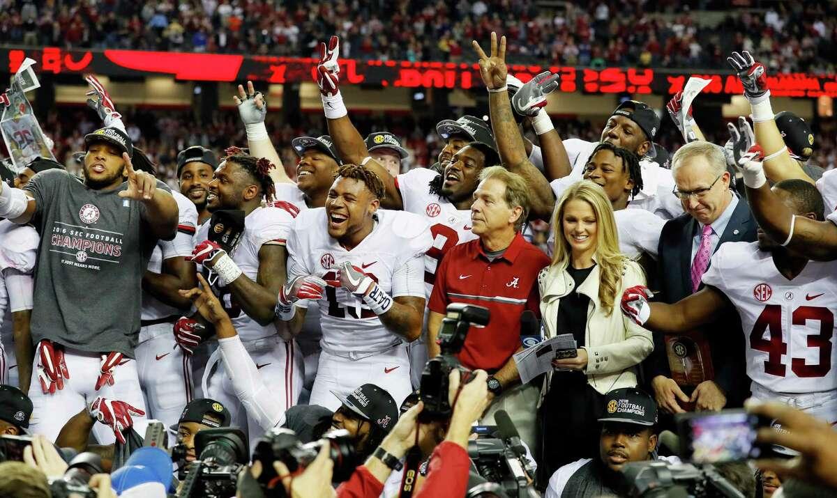 College football playoff national championship 7 p.m. Jan. 9 (ESPN) Raymond James Stadium, Tampa, Fla.