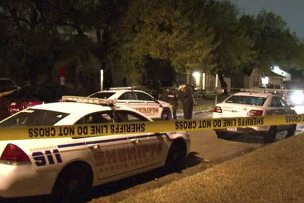 A woman was taken to the hospital after a shooting in northwest Harris County.