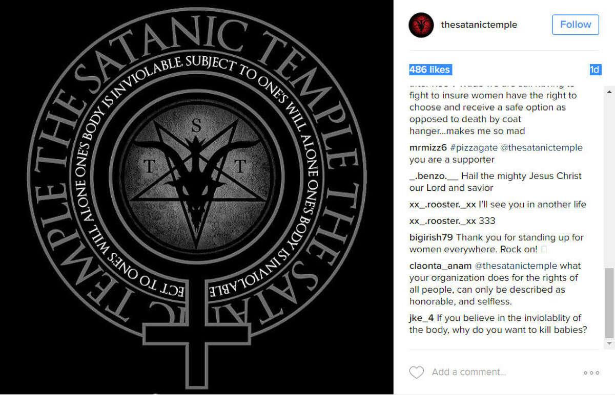 The Satanic Temple slammed new Texas fetal disposal regulations.