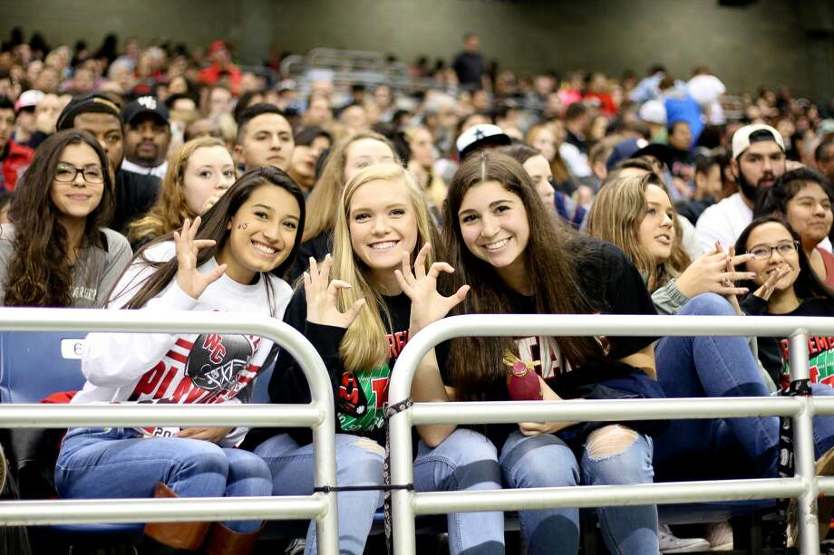 Fans of both Churchill and Steele showed Saturday at the Alamodome that more than pride was on the line for the Class 5A, Division II state quarterfinals. Photo: By Jason Gains, For MySA