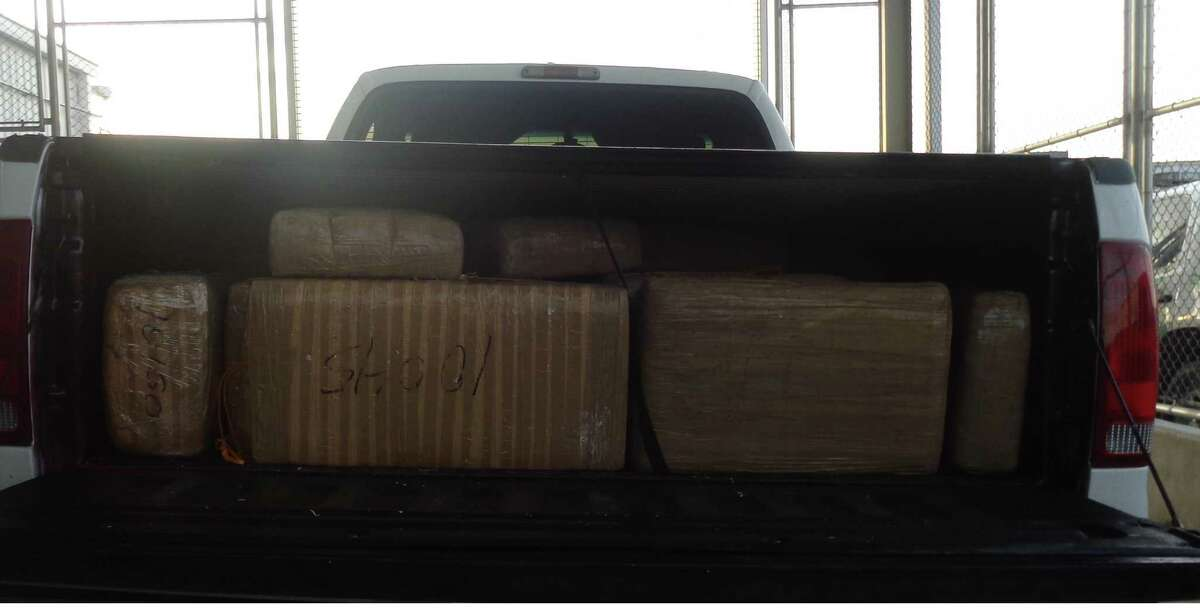 These bundles of marijuana were found by Border Patrol in an abandoned truck on Nov. 28.
