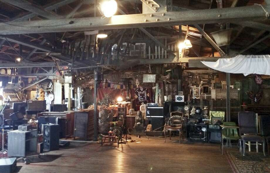 This 2014 photo provided by Ajesh Shah shows the interior of a portion of the 'Ghost Ship' warehouse, taken while he was on a tour as a potential tenant of the Oakland, Calif., building. Dozens of people died at a party after a fire that started late Friday, Dec. 2, 2016, and swept through the building. Photo: Ajesh Shah Via AP