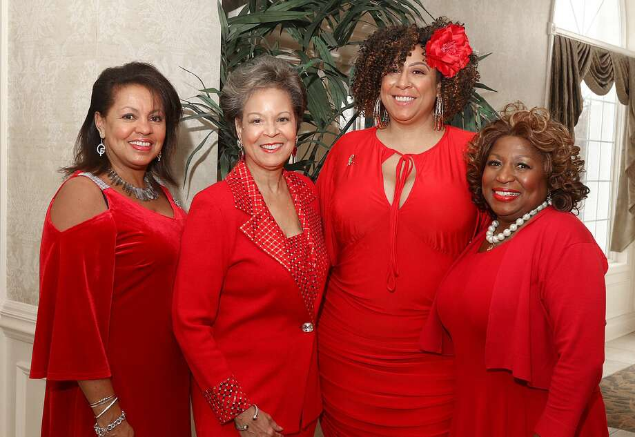 Were you Seen at the Girl Friends Inc.'s 24th annual Paint the Town Red  fundraiser on Sunday, December 4, 2016 at the Glen Sanders Mansion in  Scotia? Photo: Joe Putrock/Special To The Times Union