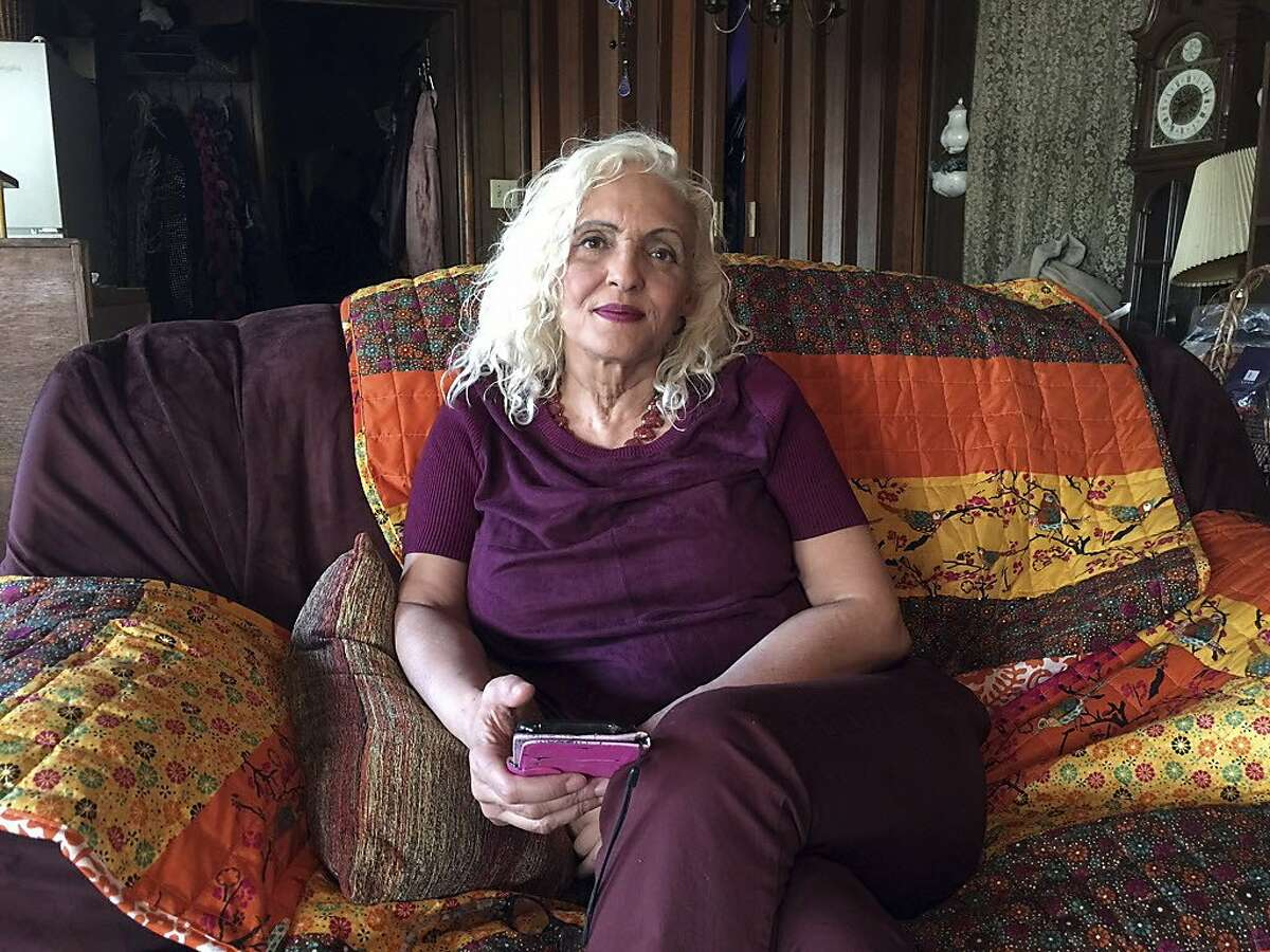"""Shelley Mack, a one-time tenant of the converted warehouse dubbed the """"Ghost Ship"""" warehouse where a fire has claimed dozens of lives, talks about her experiences from her home in Concord, Calif. She lived there for four or five months about two years ago. She paid about $700 a month in rent. Mack said she didn't know the ramshackle dwelling was illegal until after she moved in, and was instructed to tell visitors it was a 24-hour workspace for artists."""