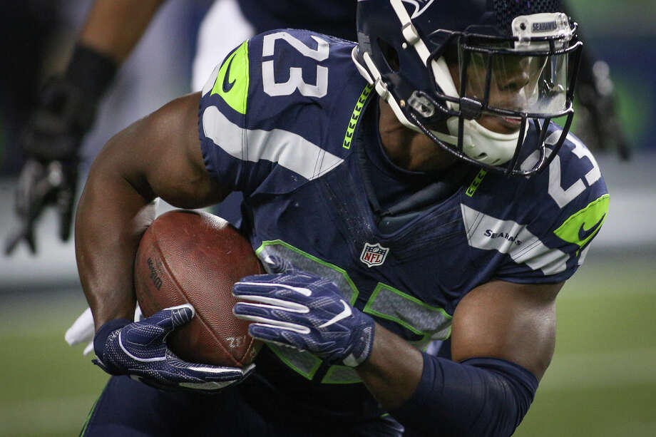 Seahawks safety Steven Terrell will have his hands full with a talented Atlanta Falcons receiving corps on Saturday. Check out the following gallery to see photos from the team's Week 6 matchup. Photo: GRANT HINDSLEY, SEATTLEPI.COM / GRANT HINDSLEY
