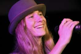 In this file photo, Sawyer Fredericks performs at a gala in Saratoga Springs in September 2015.