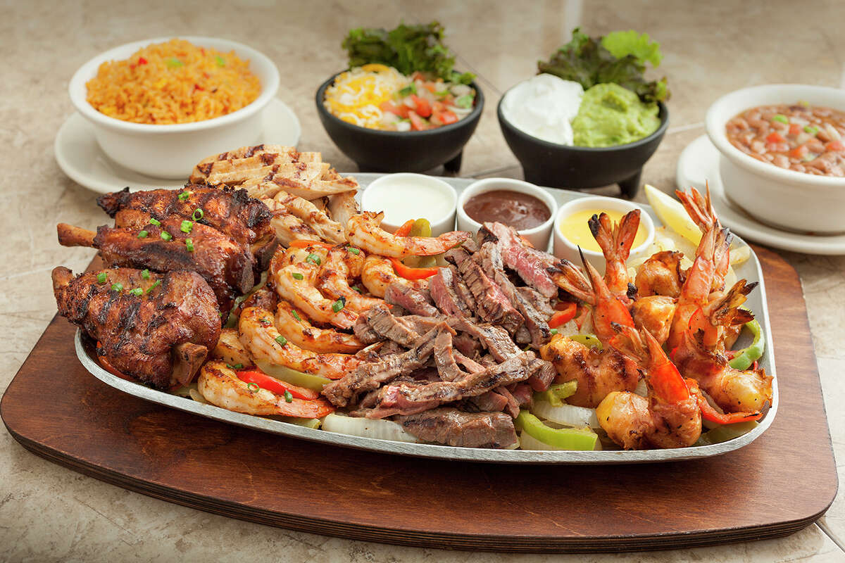 Abuelo's Mexican restaurant will open its first location in the Houston area in Katy in February 2017. Shown: Ultimate fajitas.