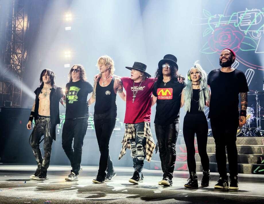 Guns N' RosesNot In This Lifetimetour presented by Live Nation at NRG Stadium. Photo: Katarina Benzova / copyright by Katarina Benzova