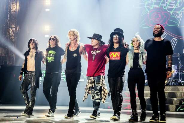 Guns N' RosesNot In This Lifetimetour presented by Live Nation at NRG Stadium.