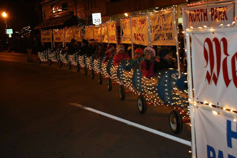Harbor Beach held its annual Lighted Christmas Parade Saturday. Photo: Rich Harp/For The Tribune