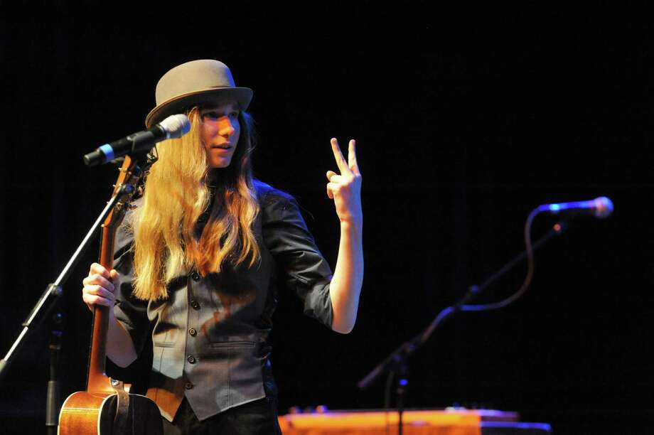 "Sawyer Fredericks, May 26, Caffe Lena. ""Voice"" winner returns to home field. Photo: Michael P. Farrell / 00031717A"