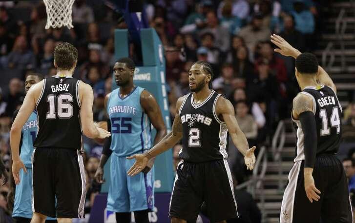 The Spurs never anticipated Kawhi Leonard becoming an MVP-caliber player.