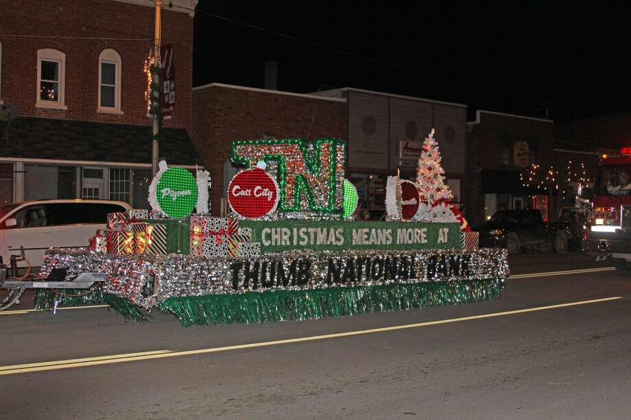 Cass City held its annual Lighted Christmas Parade on Saturday. Photo: Brenda Battel/Huron Daily Tribune