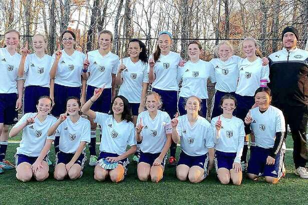 The Wilton Girls 2004 Blue team finished the season with a record of 7-0-1 and won their division on Sunday by defeating Darien in the finals 2-1. The team was led by Coach Iain Golding. Team members are Bella Andjelkovic, Mia Cawley, Anabelle Creveling, Kathryn Cronin, Kiana Gow, Gracie Kaplan, Abbey Kyle, Jamie Leventhal, Kathleen Lamanna, Morgan Lebek, Ava Marini, Meredith Mobyed, Avery Newcomer, Olivia Newfield, Akira Nobumoto, Katie Umphred.