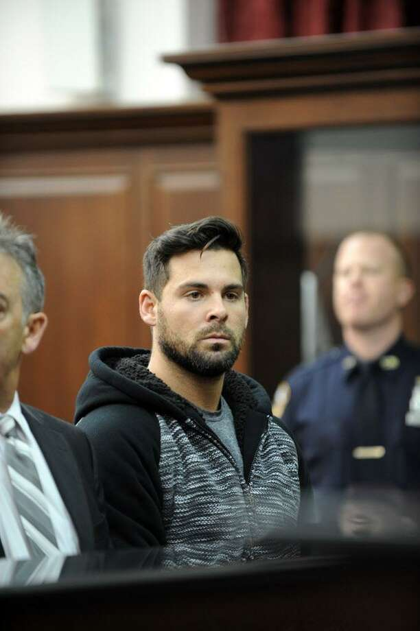 FILE — Lawrence Dilione, who has been charged in connection with the stabbing death of Joey Comunale of Stamford, Conn, was arraigned in Criminal Court in New York on Friday, Nov. 18, 2016. Photo: Sam Costanza / NY Daily News Via Getty Images / 2016/Daily News, L.P. (New York)  Sam Costanza/NY Daily News via Getty Images