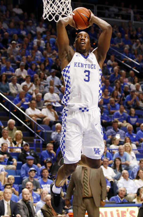 "5. Edrice ""Bam"" Adebayo, KentuckyAge/Height: 19, 6-9A bit undersized and without great length, Adebayo has to make up for some of his lack of size with good strength and quickness, but has ability as a rebounder and defensively that could translate well in the NBA."
