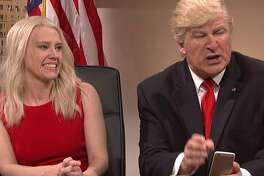 """Alec Baldwin  continuing to impersonate President-elect Donald Trump in a sketch on """"Saturday Night Live."""""""
