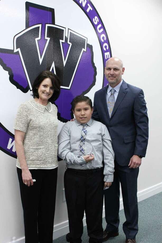 Willis ISD recognized its November elementary student of the month Juan Sauceda, who is a fourth-grade student at Parmley Elementary. He was nominated by his 4th grade teacher, Greta Lyren who stated Juan brings his best to school every day. Photo: Submitted Photos