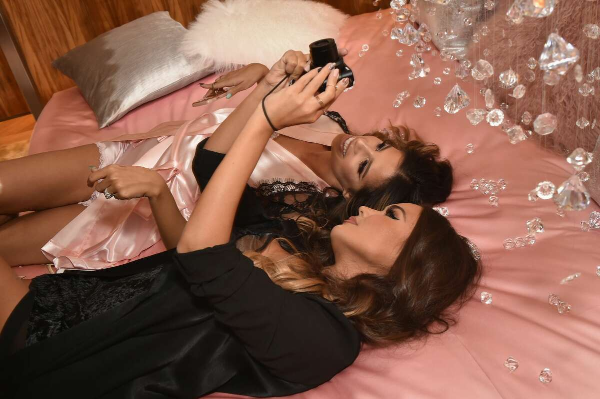 NEW YORK, NY - DECEMBER 03: Laura Lee (L) and Maryam Maquillage attends M.A.C Cosmetics Mariah Carey Beauty Icon Launch at Baccarat Hotel on December 3, 2016 in New York City. (Photo by Theo Wargo/Getty Images for M.A.C)