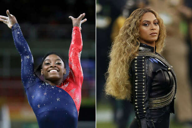 Houston natives Simone Biles and Beyonce are both on for Time's 2016 Person of the Year finalist shortlist.