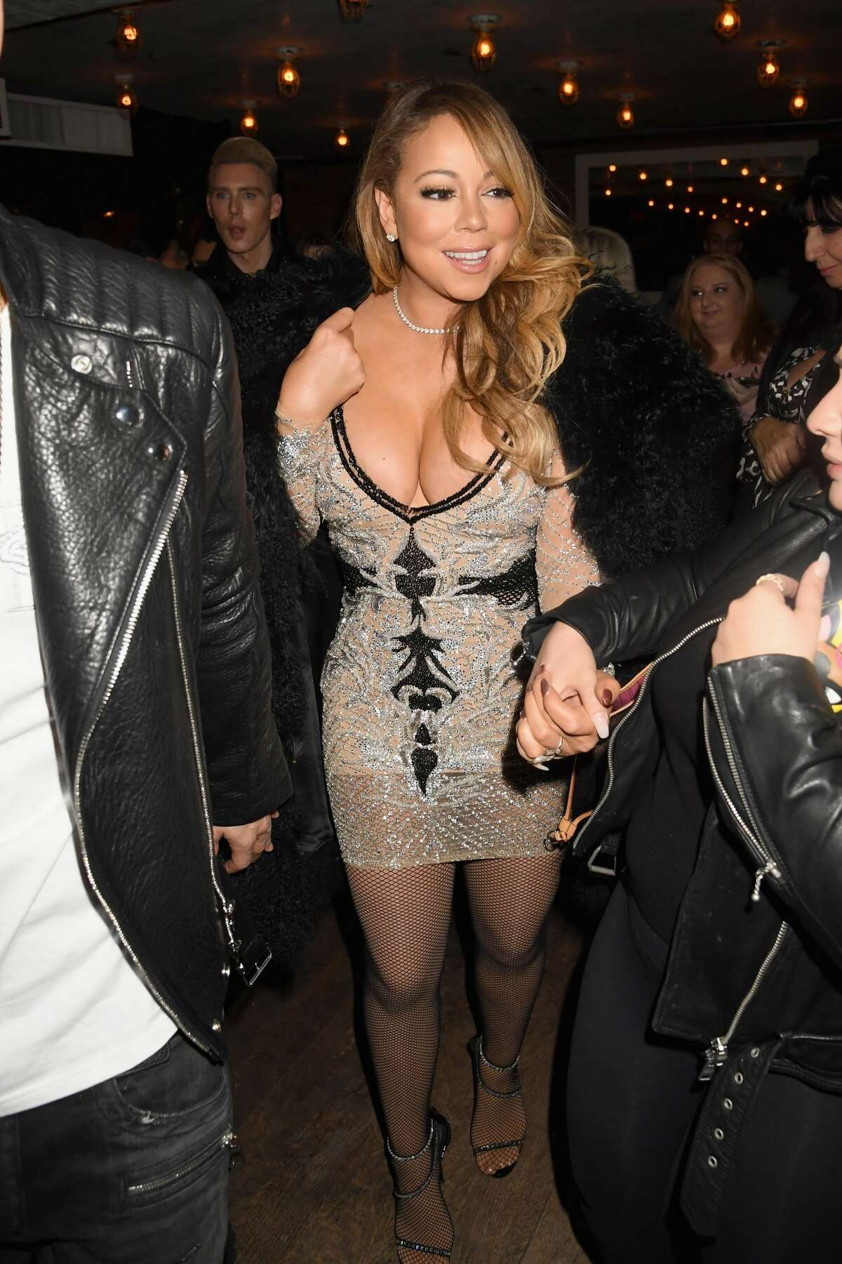 NEW YORK, NY - DECEMBER 04: Recording artist Mariah Carey attends MARIAH'S WORLD Viewing Party at Catch on December 4, 2016 in New York City. (Photo by Jeff Kravitz/FilmMagic for Mirage Entertainment)
