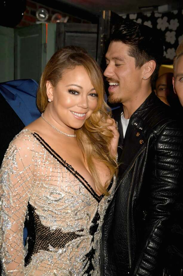 NEW YORK, NY - DECEMBER 04:  Recording Artist Mariah Carey (L) and choreographer Bryan Tanaka attend MARIAH'S WORLD Viewing Party at Catch on December 4, 2016 in New York City.  (Photo by Jeff Kravitz/FilmMagic for Mirage Entertainment) Photo: Jeff Kravitz/FilmMagic For Mirage Entertainme