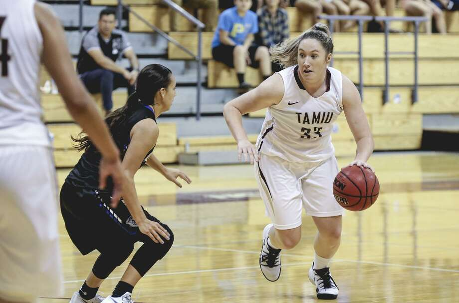 TAMIU's Hannah Beede will look to pick up some of the scoring load for the Dustdevils without Hunt. Photo: Victor Strife /Laredo Morning Times File