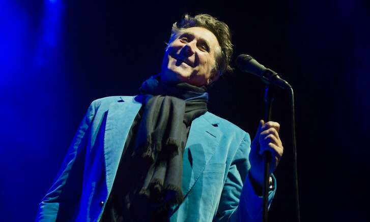 British glam rock and fashion icon Bryan Ferry makes a rare concert appearance in San Antonio on Monday.