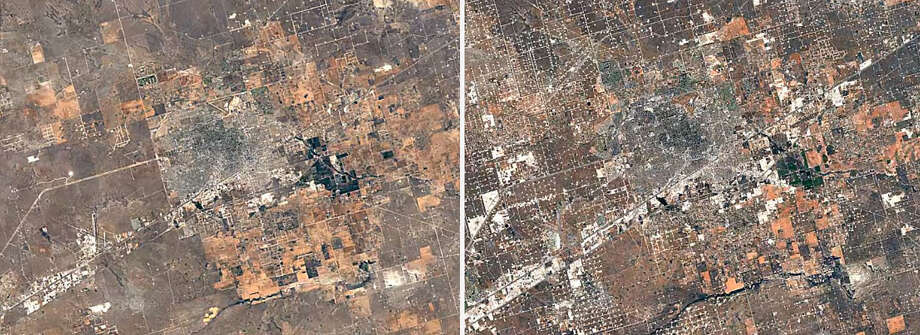 PHOTOS: Google Timelapse shows how West Texas cities changed over 30 yearsClick through to see how different areas of Midland and Texas have changed over 30 years.