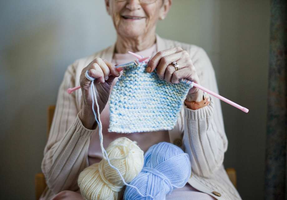 We can all now knit for a good cause. Photo: Dimitri Otis/Getty Images