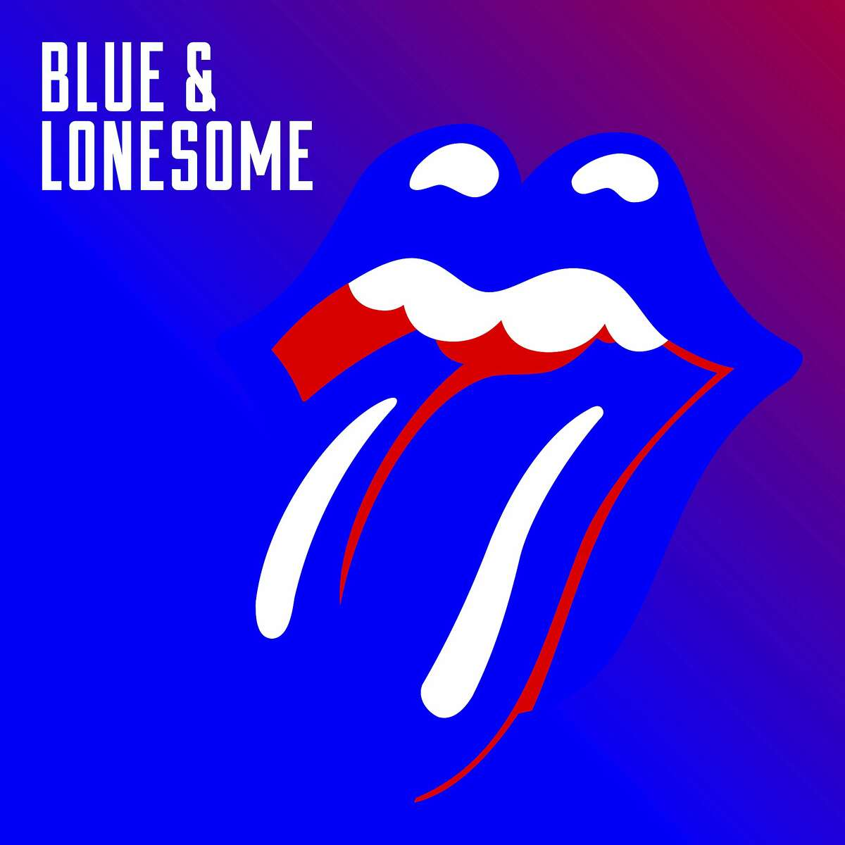 """This cover image released by Interscope shows, """"Blue & Lonesome,"""" the latest release by the Rolling Stones. (Interscope via AP)"""