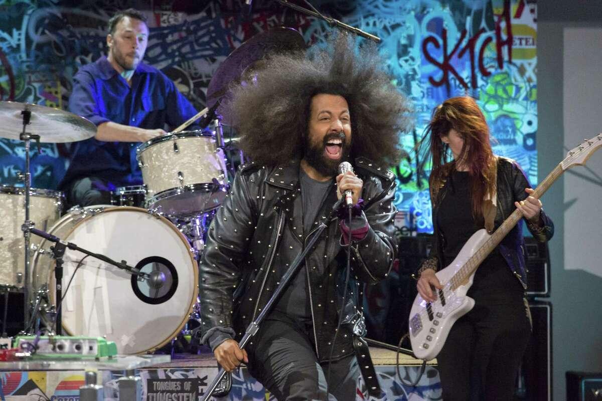 Seattle comedian Reggie Watts has a special on Netflix.