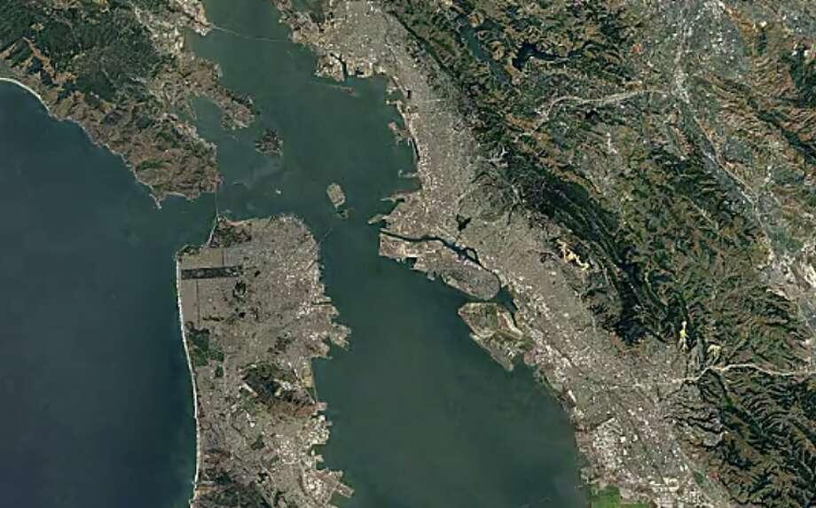 San Francisco - 1984 Photo: Google Timelapse