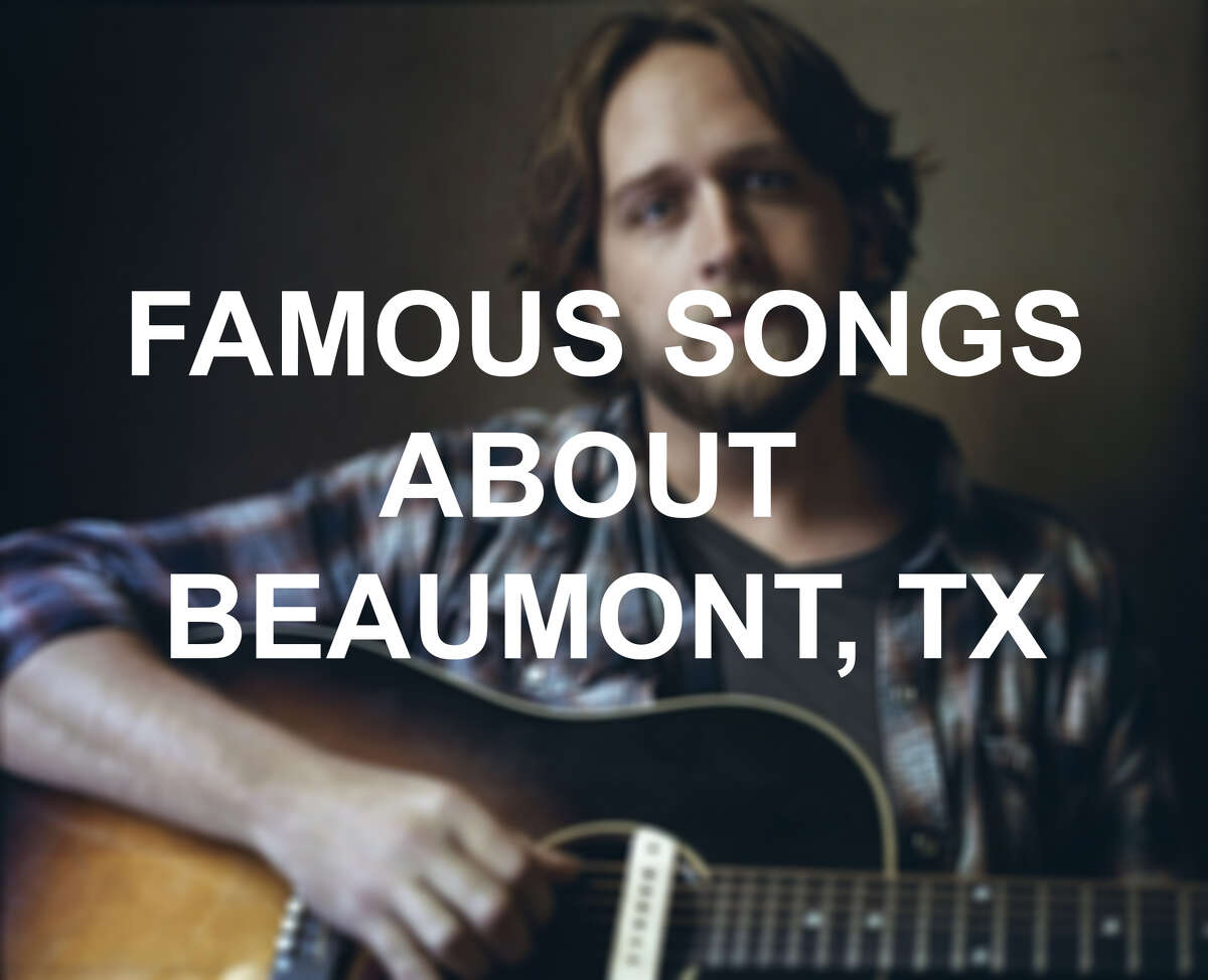 Keep clicking to see which artists included a nod to Beaumont in their songs.