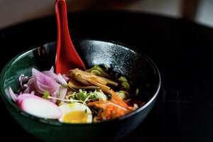 Nao Ramen House serves shoyu beef ramen.