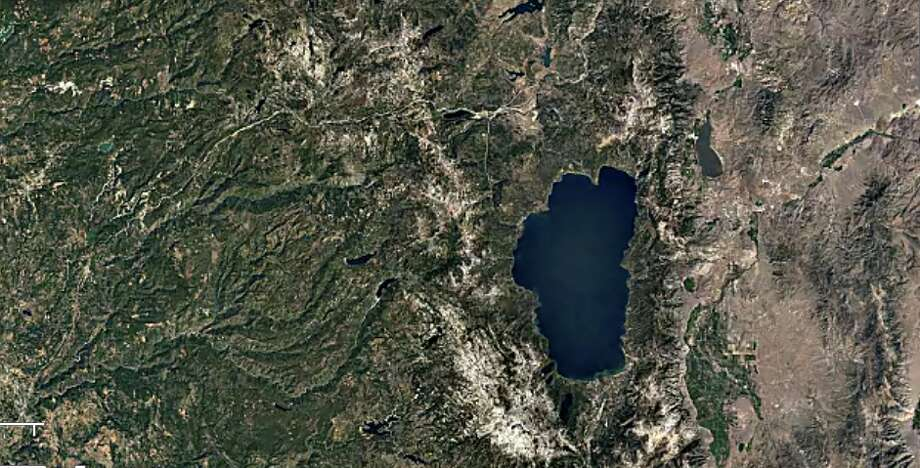 Lake Tahoe - 1984 Photo: Google Timelapse