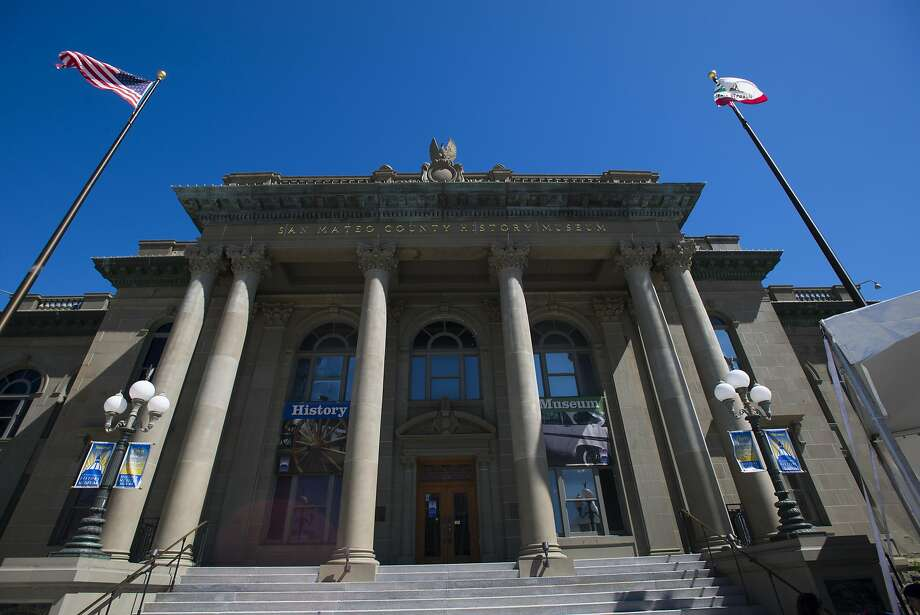 The San Mateo County History Museum is located in the Old County Courthouse in Redwood City. Photo: Dan Evans
