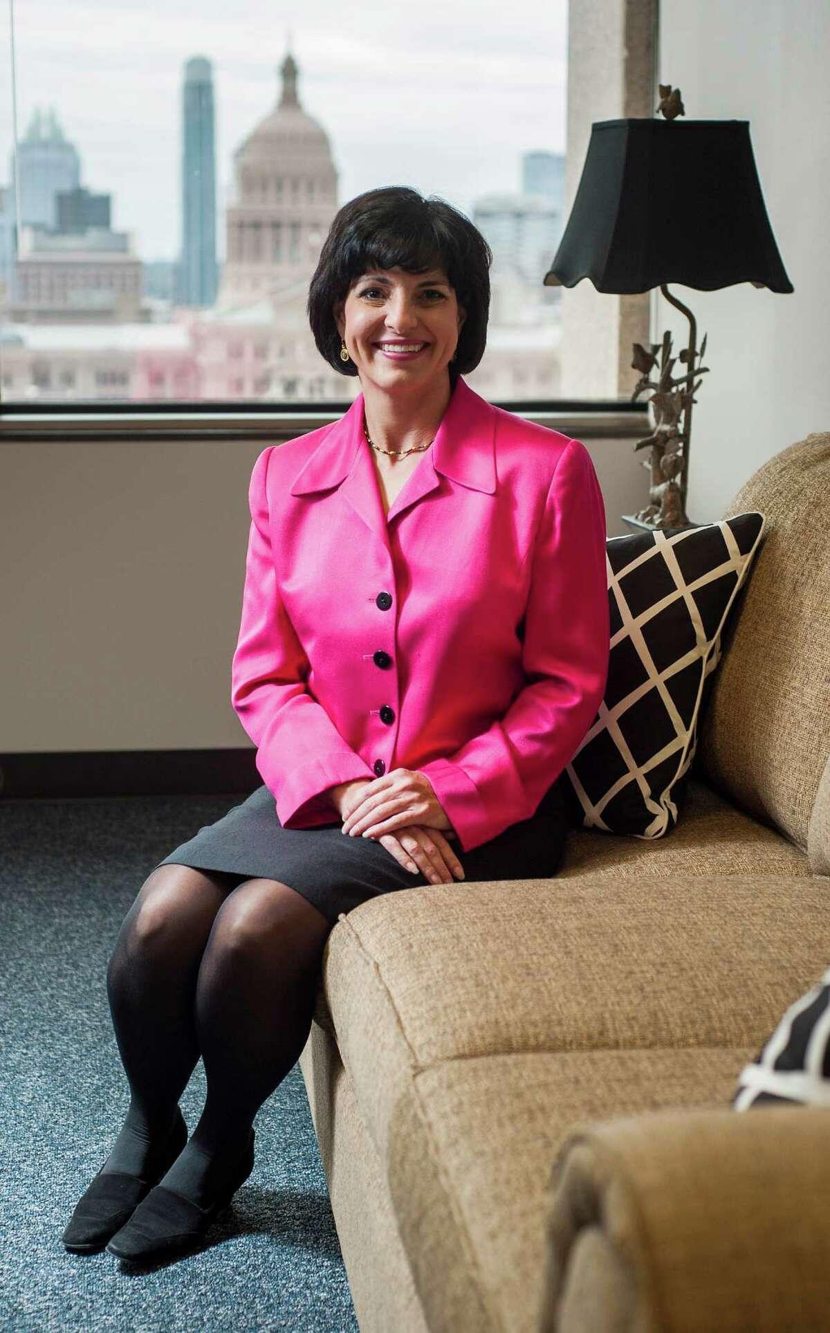 Texas Railroad Commission Chair Christi Craddick.