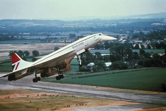 Supersonic passenger flights stopped after the July 25, 2000, crash of an Air France Concorde outside Paris that killed 113 people, and the downturn in the aviation industry after the Sept. 11, 2001, terrorist attacks.