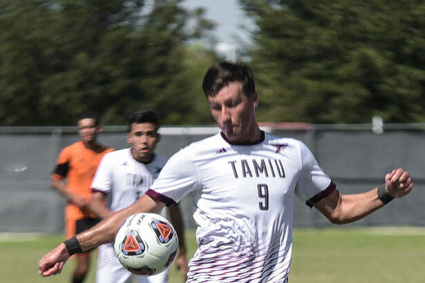 TAMIU senior forward Ryan Hodgson was named first-team All-Heartland Conference after scoring a league-best 10 goals in 2016.