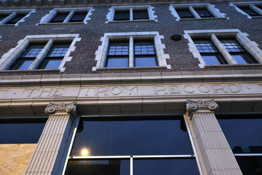 Click through the slideshow for former Capital Region landmarks that are now apartments. The former Troy Record building is among the notable Capital Region building to be slated for residences.