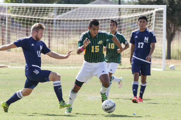 Jose Luis Hincapie was one of five LCC players with a goal in the Palominos' 5-0 victory over Northeast Texas Wednesday.