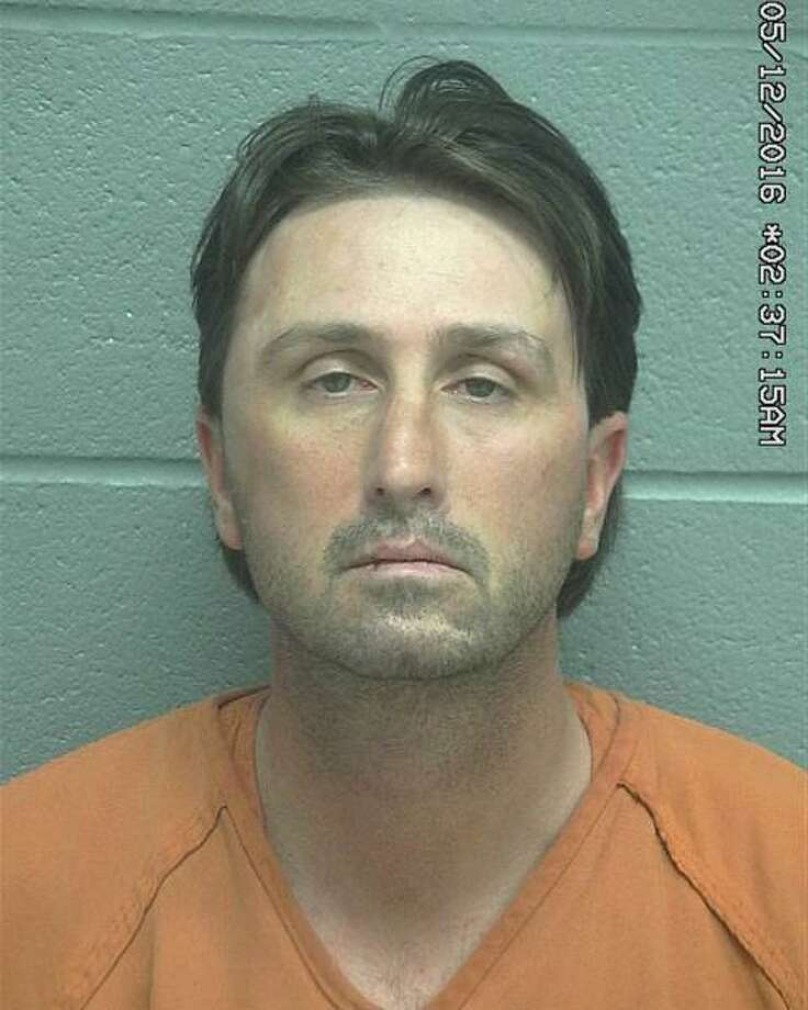 Matthew Phillip Gryder, 40,  was arrested Sunday after he allegedly threatened police officers, according to court documents. Photo: Midland County Sheriff's Office