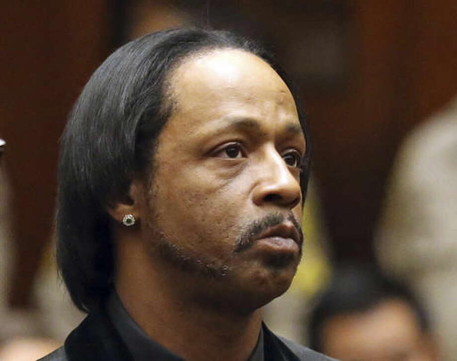 FILE - In this, Oct. 27, 2015, file photo, comedian Katt Williams appears in court for his arraignment on robbery charges in Los Angeles. Williams has pleaded no contest to assault and battery charges stemming from an incident with a bodyguard in north Georgia. The comedian, whose real name is Micah Sierra Williams, was charged in March after authorities said he threatened the man while an acquaintance beat him with a baseball bat. Defense attorney Drew Findling said Williams agreed to a plea deal on Thursday, Dec. 1, 2016. (Frederick M. Brown/Pool via AP, File) Photo: Frederick M. Brown