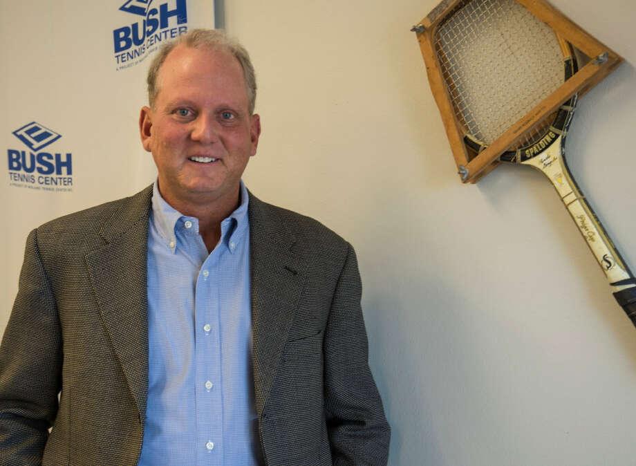 Tim Stallard, the new GM/Director for Bush Tennis Center, in portrait on Monday, Dec. 5.  Tim Fischer/Reporter-Telegram