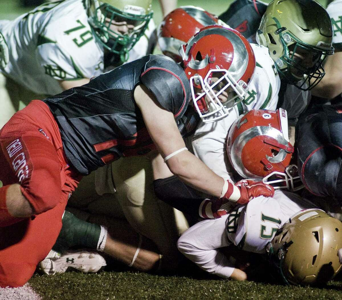 The New Canaan Rams' defense overshadowed their offense on Monday in the Class L semifinal win over Notre Dame-West Haven.