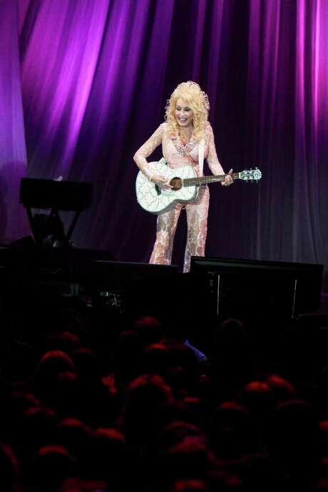 Dolly Parton in concert at NRG Arena on December 5, 2016.  Photo: Gary Fountain, Gary Fountain/For The Chronicle / Copyright 2016 Gary Fountain